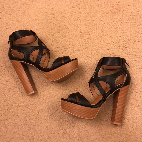 Qupid Shoes   Platform Heels 6   Poshmark